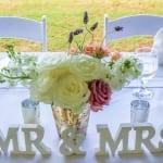 bride groom table