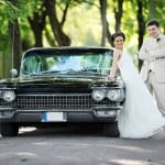 bride groom car