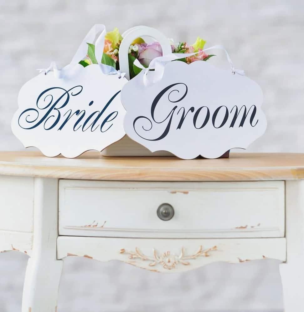 bridge groom table